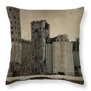 Empty Windows Throw Pillow
