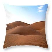 Emtpy Quarter Dunes # 1 Throw Pillow