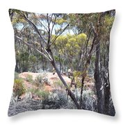 Emus Throw Pillow
