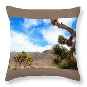 En Route To Grand Canyon West Rim Throw Pillow