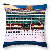 En Voyage Throw Pillow