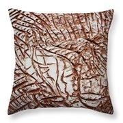 Encased - Tile Throw Pillow
