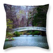 Enchanted Bridge Throw Pillow