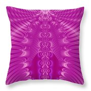 Enchanted By Pink Throw Pillow
