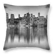 Enchanted City Throw Pillow by Az Jackson