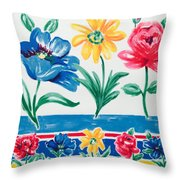 Enchanted Florals Throw Pillow