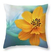 Enchanted Flower Throw Pillow