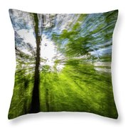 Enchanted Forest 5 Throw Pillow
