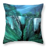 Enchanted Hideaway Throw Pillow by Cynthia Adams