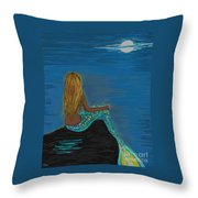 Enchanted Moon Throw Pillow