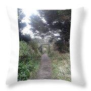 Enchanted Path Throw Pillow