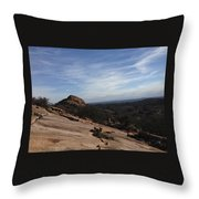 Enchanted Rox Throw Pillow