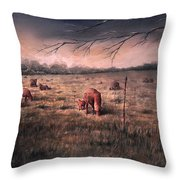 A Childhood Enchantment Throw Pillow