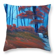 Enchanted Surrealism Throw Pillow by Cynthia Adams