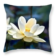 Enchanting Lotus Throw Pillow