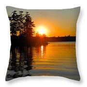 Enchanting Moment Throw Pillow