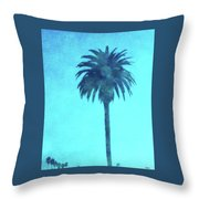 Encinitas Palm Throw Pillow