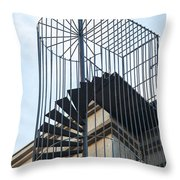 Enclosed Escape Throw Pillow