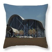 Enclosure Throw Pillow