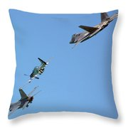 Encore Fly-over Throw Pillow