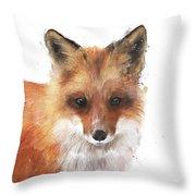 Encounter Throw Pillow by Amy Hamilton