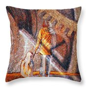 Encounter With Destiny... Throw Pillow