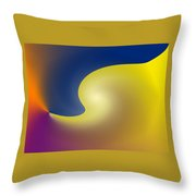 Encroaching Throw Pillow
