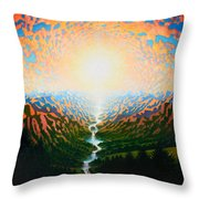 End Of 2011 Throw Pillow