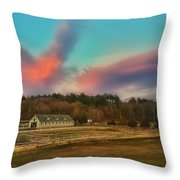 End Of A Beautiful Day Throw Pillow