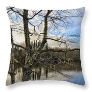 End Of A Season Throw Pillow