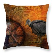 End Of Life Throw Pillow