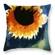 End Of Life Last Breath Throw Pillow