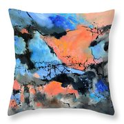 End Of Party Throw Pillow