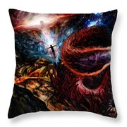 End Of Space Throw Pillow