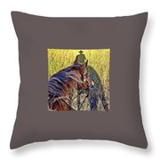 End Of Spring Throw Pillow