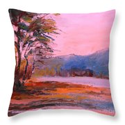 End Of The Day 09 Throw Pillow