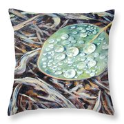 End Of The Drought Throw Pillow