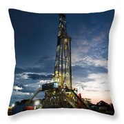 End Of The Hitch Throw Pillow