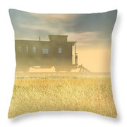 End Of The Line II Throw Pillow