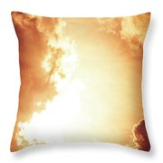End Of The World? Throw Pillow