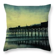 End To The Day Throw Pillow