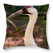 Endangered Species - Whooping Crane Throw Pillow