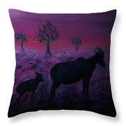 Endangered Life Throw Pillow