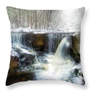 Enders Ice Square Throw Pillow