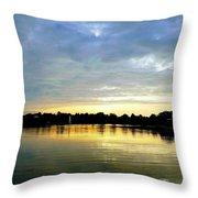 Edinboro Lake Throw Pillow