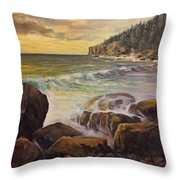 Ending The Day Throw Pillow