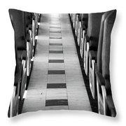 Endless Aisle Throw Pillow