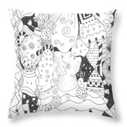 Endless Blessings Throw Pillow