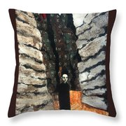 Endless Canyon Throw Pillow