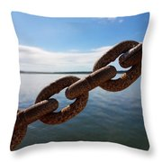 Endless Chain Of Hope  Throw Pillow